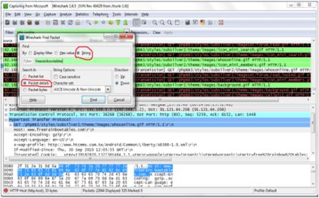 How To Hack Any Facebook Account Using Wireshark