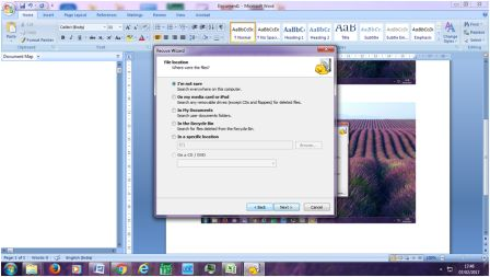 How To Recover Deleted Files in PC Using Recuva