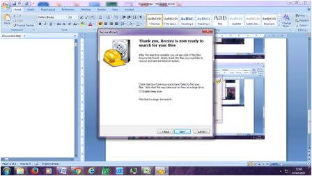 Recover Deleted Files Using Recuva software : Guide