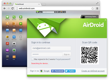 - airdroid - How To Hack Android Phone Using Another Android Phone Remotely 2018