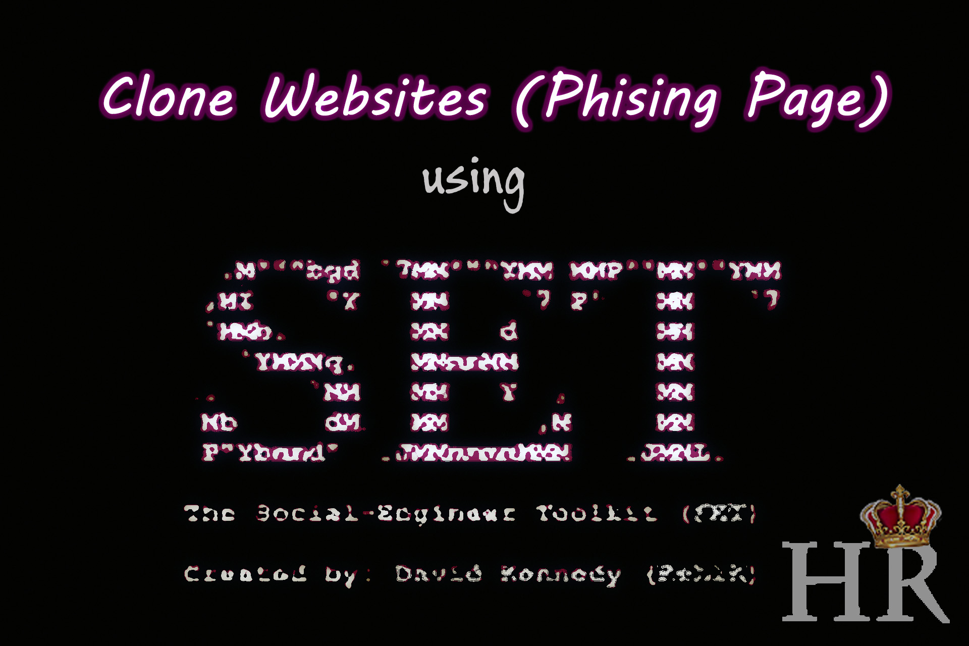 How To Clone Fake Websites make Phish page Using Setoolkit