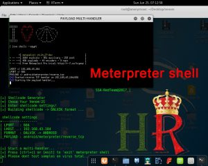 Meterpreter shell