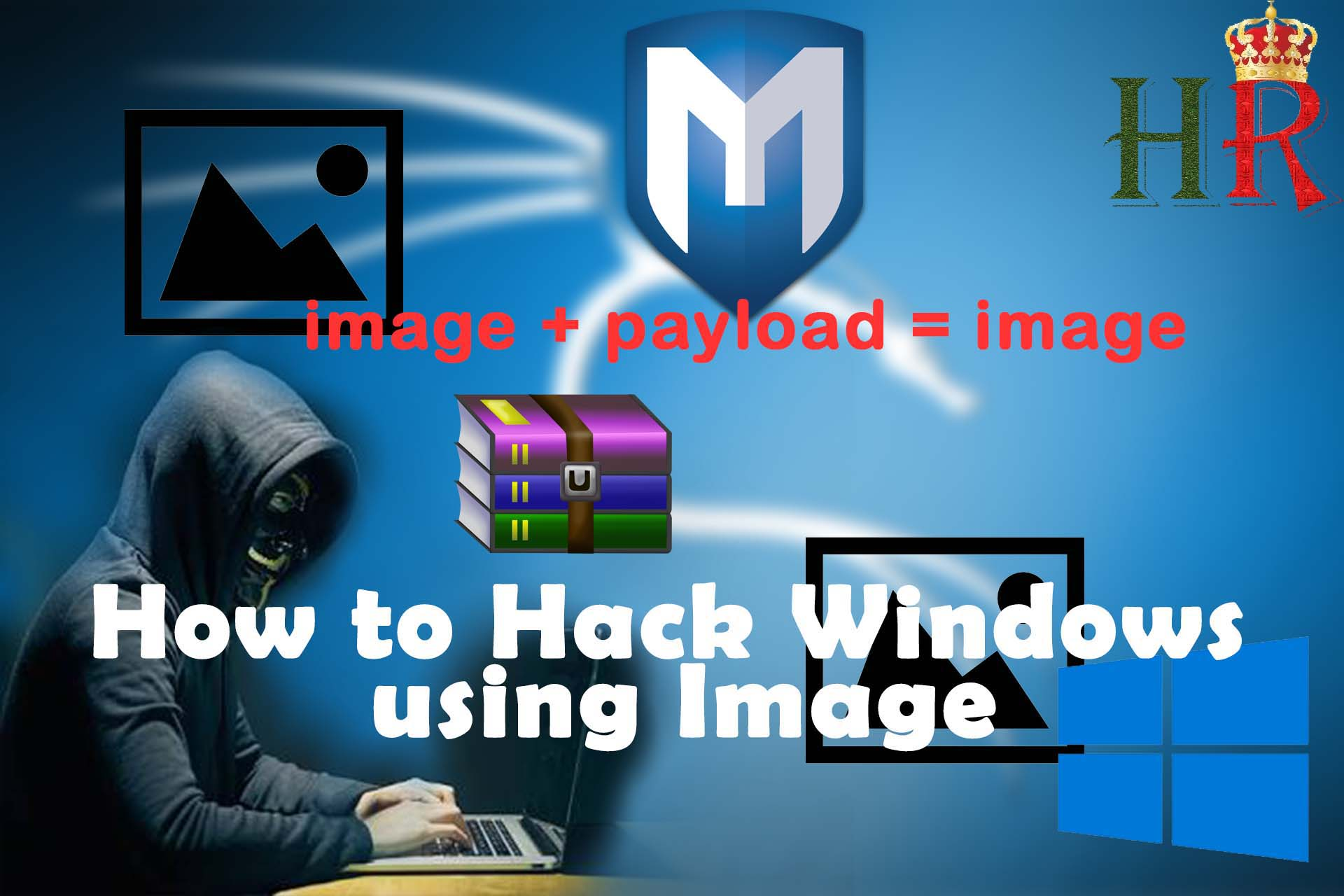 How To Hack Windows Using Image Remotely Without Any Access ?!