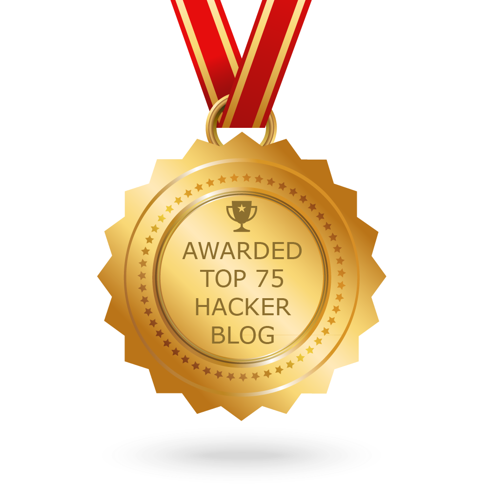 Awarded As TOP 75 Hacker Blog On Earth