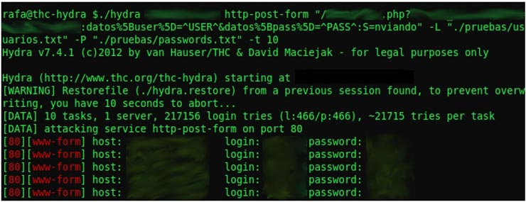 - hydra - Top Best Hacking Tools For Linux, Windows And Mac OS X 2018