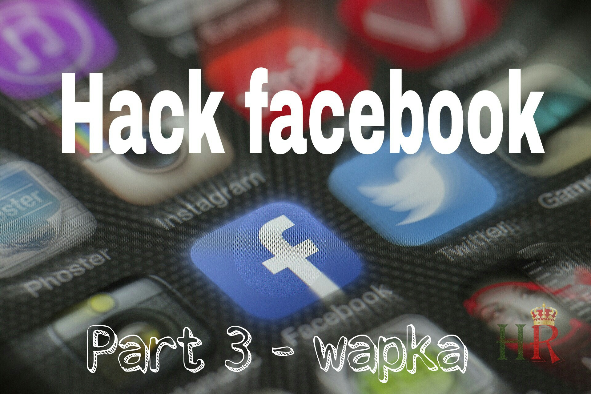 How To Hack Any Facebook Account using Wapka [Phishing]