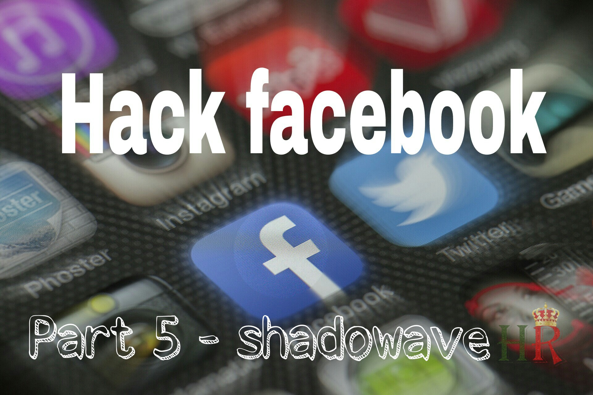 Shadowave apk - hack fb id by sending link