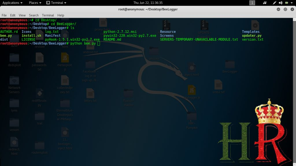 How To Hack Users Credentials Using Beelogger! an E-mail