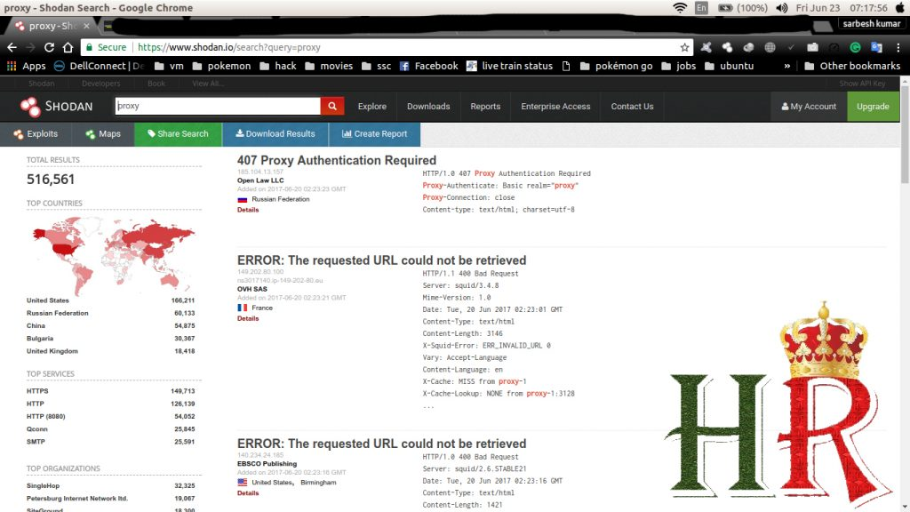 search shodan for vulnerable target