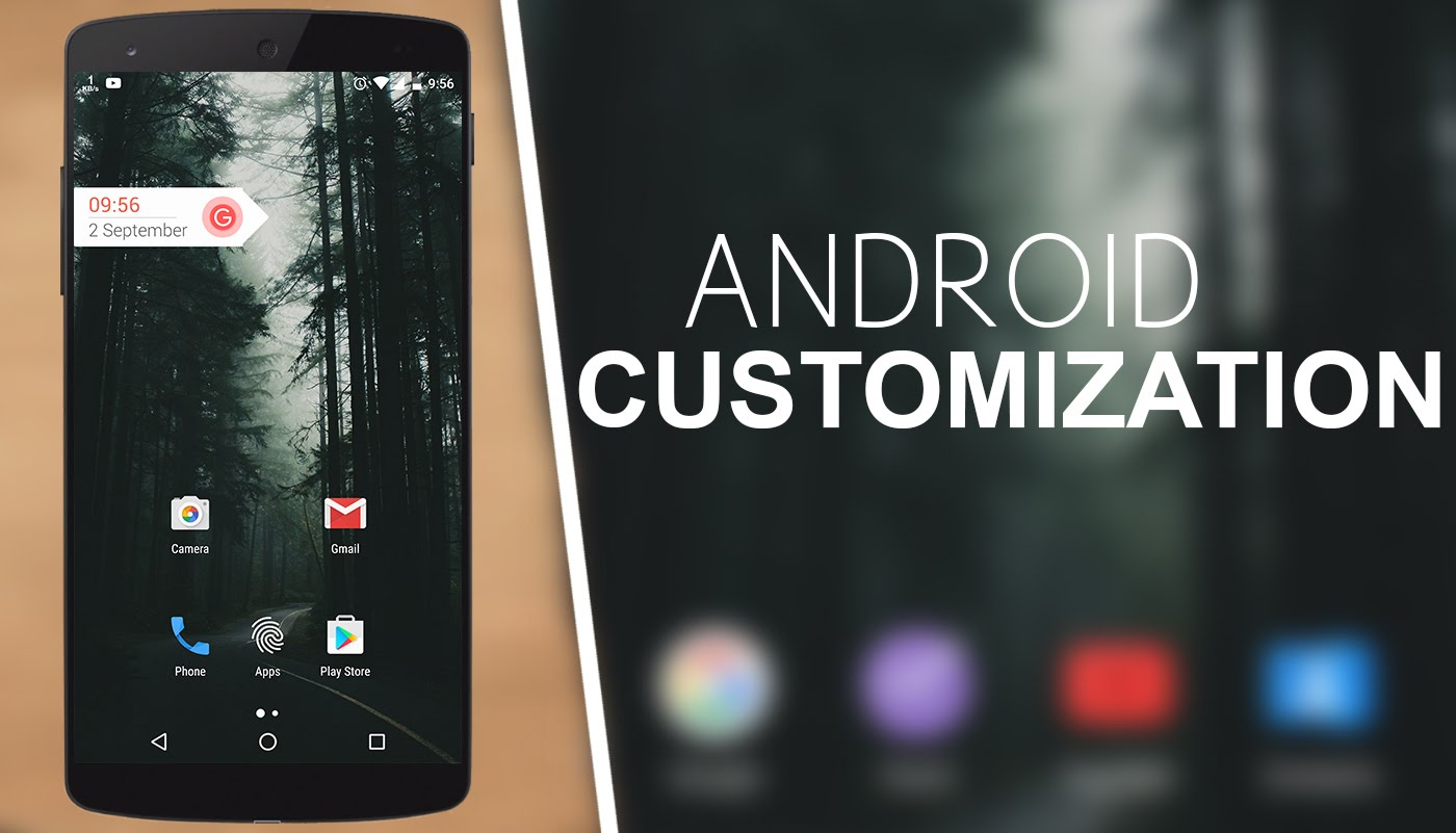 customize android app